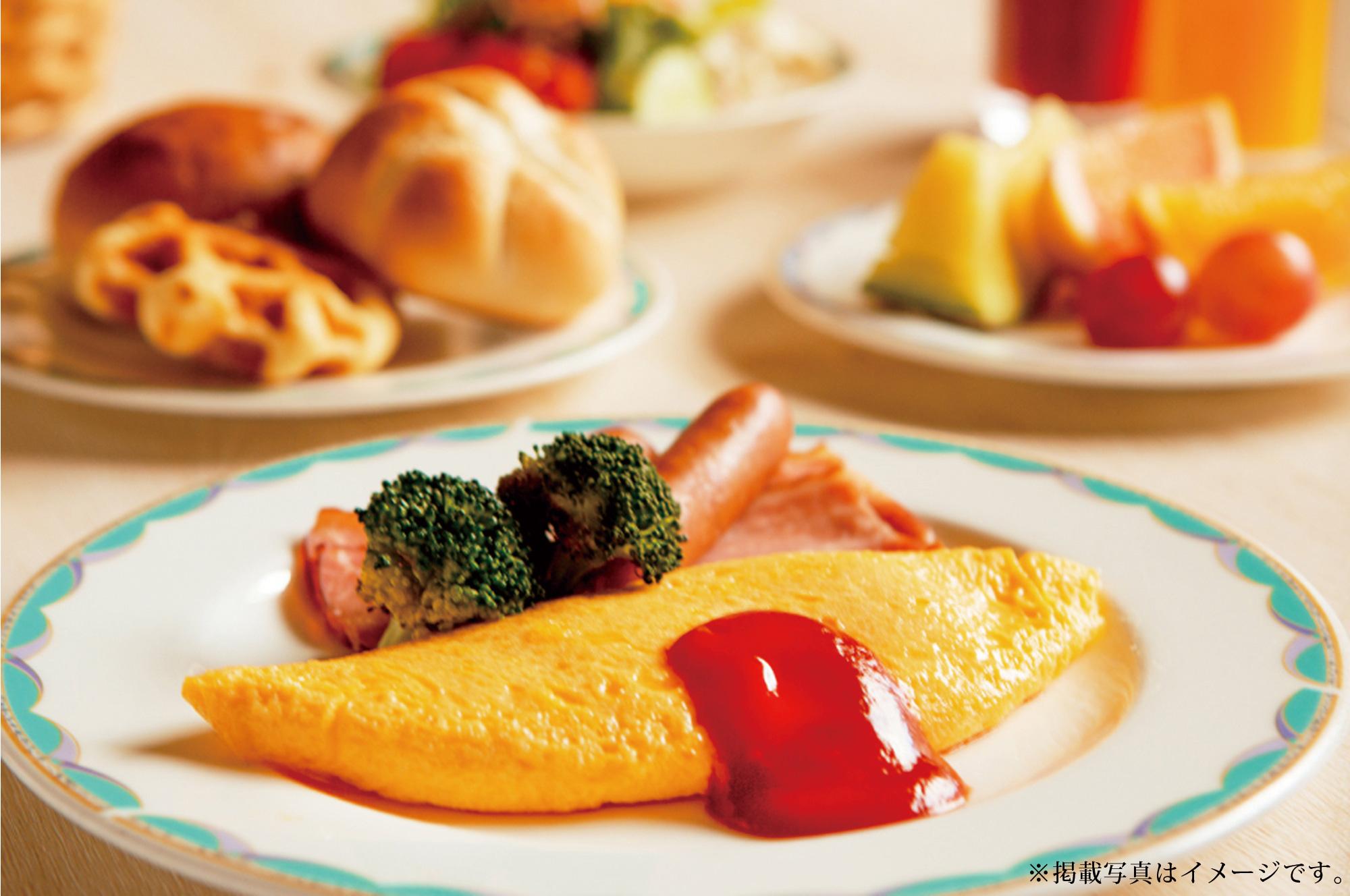 富士の朝食
